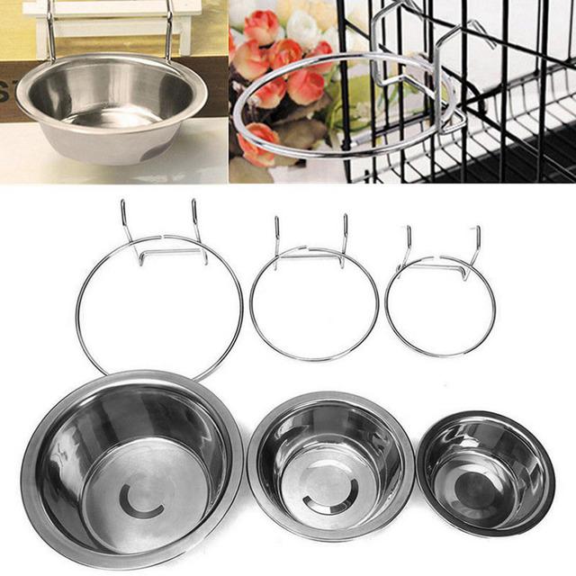 Stainless Steel Hanging Pet Pet Bowls