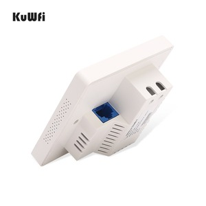 Image 4 - KuWFi 300mbps Wireless Router Indoor in wall Wireless Access Point  Wireless AP Router Support 20users