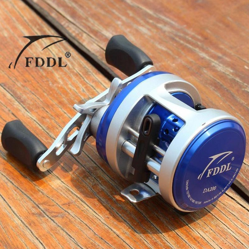 FDDL NEW DA200 High magnetic control Right Left Hand Bait Casting Fishing Reel 11+1BB 4.7:1 253g Baitcasting Reel шариковая ручка parker jotter core k61 st steel ct mblue 1953170