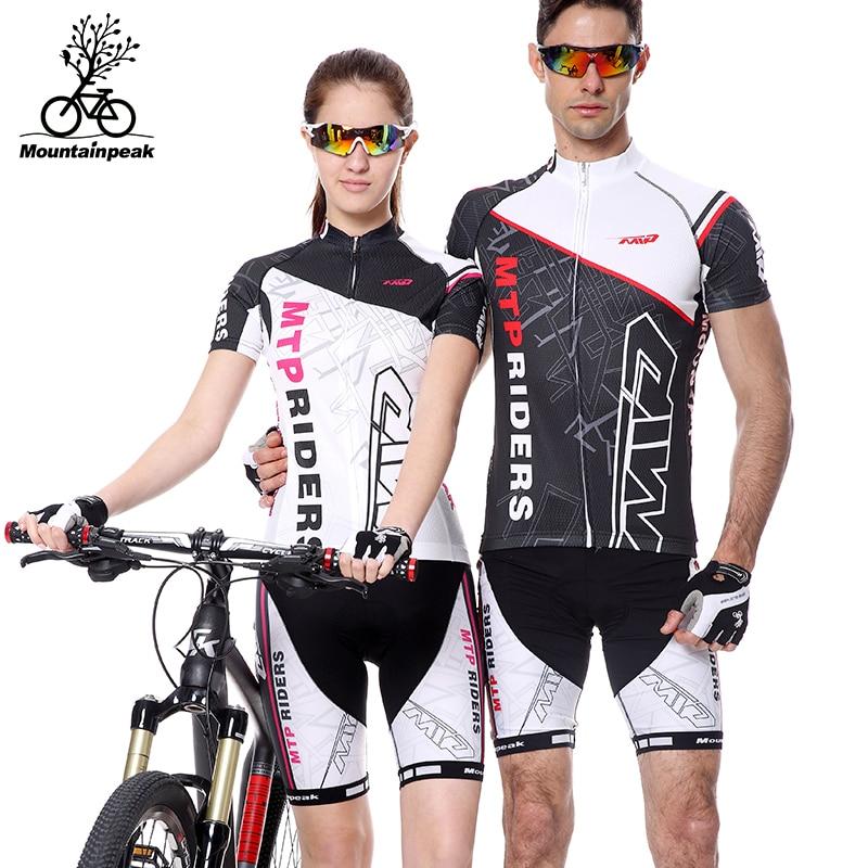 b62630e95 Jerseys de ciclo de verano de manga corta de los hombres y de las mujeres  aire ciclismo mountain bike Riding pantalones