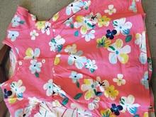 Baby Girl Dress Print Flower Clothing 0-2 Years
