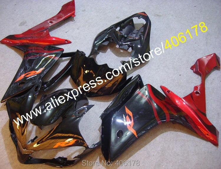 Sıcak Satış, Ucuz Enjeksiyon fairing Yamaha için YZF1000 R1 07 08 YZFR1 2007 2008 Özel Bodyworks grenaj (Enjeksiyon Kalıplama)