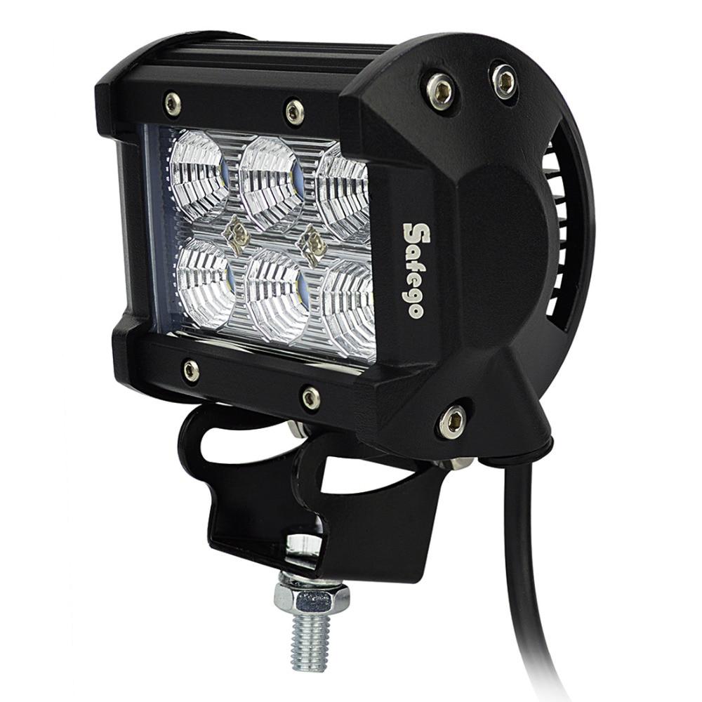 10pcs LED μπαρ 18W οδήγησε φως εργασίας φως - Φώτα αυτοκινήτων - Φωτογραφία 4