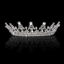 Trendy Bridal Women Headband Crown Tiaras Wedding Pageant Prom Hair Jewelry