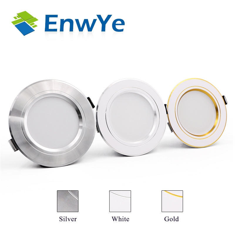 Silver high power led downlights 5730SMD 10W 15W 20W 220V 230V 240V led lamp led light