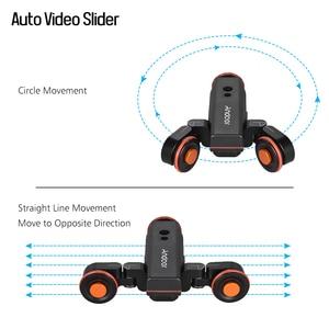Image 3 - Andoer L4 Pro Motorizzato Macchina Fotografica Video Dolly Bilancia Indicazione Elettrico Rintraccia Slider per Canon Nikon Sony Dslr Fotocamera Dello Smartphone