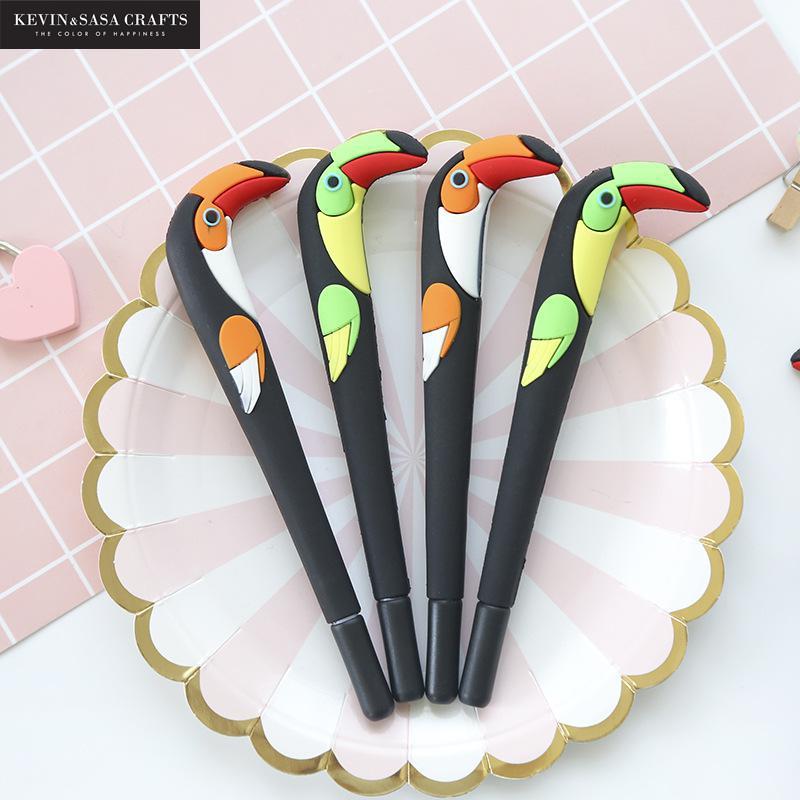New Gel Pen Quality Pen Stationery Kawaii School Supplies Gel Ink Pen School Stationery Office Suppliers Pen Kids Gifts