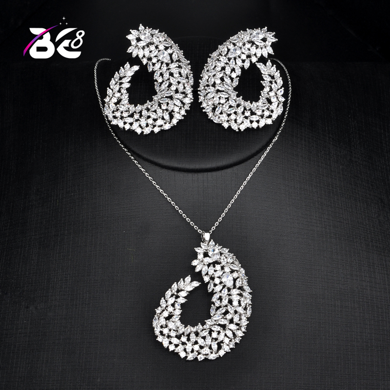 Be 8 New Fashion Necklace and Earring Jewelry Set Geometric Design for Women Fashion Jewelry Party