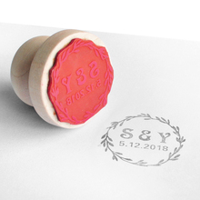 Personalized Wedding Stamp, Custom Invitation Save The Date Stamp