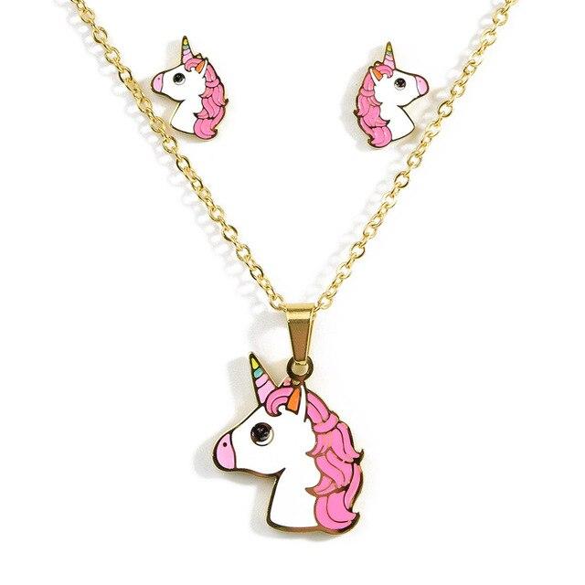 Cartoon Cute Pink Horse...