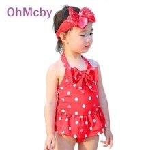 Baby Girls One Piece Swimwear Bikini Meisje Children Swimwear Girl Bathing Suit Baby Swimming Suit Toddler Little Mermaid Ballet