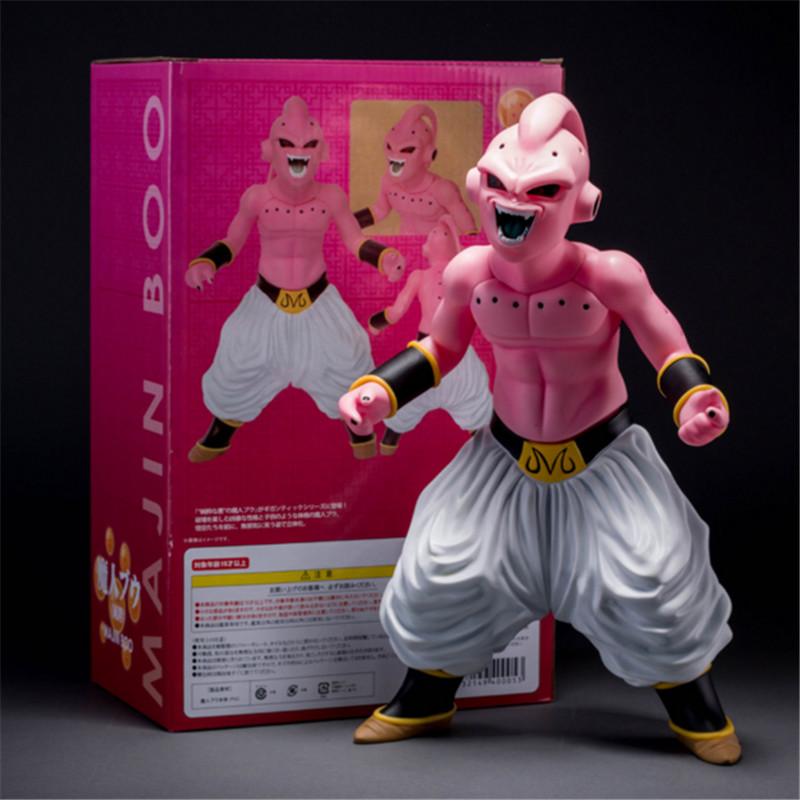 Anime Dragon Ball Z Action Figure toy Model 30cm PVC Dragon Ball Majin Buu Figure Toys Packaging In Box dragon ball z sexy android 18 lazuli action figure pvc classic collection anime dragon ball model toy garage kit doll 19cm