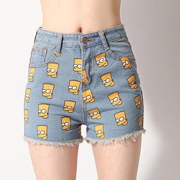 Verano caliente de la alta calidad de la nueva moda mujer de mezclilla  desgarrado pantalones cortos 2244b6cfab77