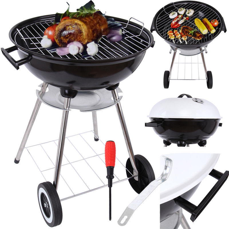 (Ship from EU) Charcoal Grill barbecue BBQ grill Household Family Party Cooking Tool Garden Camping BBQ Barbecue hewolf portable size outdoor camping beach bbq barbecue grill rack household use lightweight folding picnic rack stand well sell