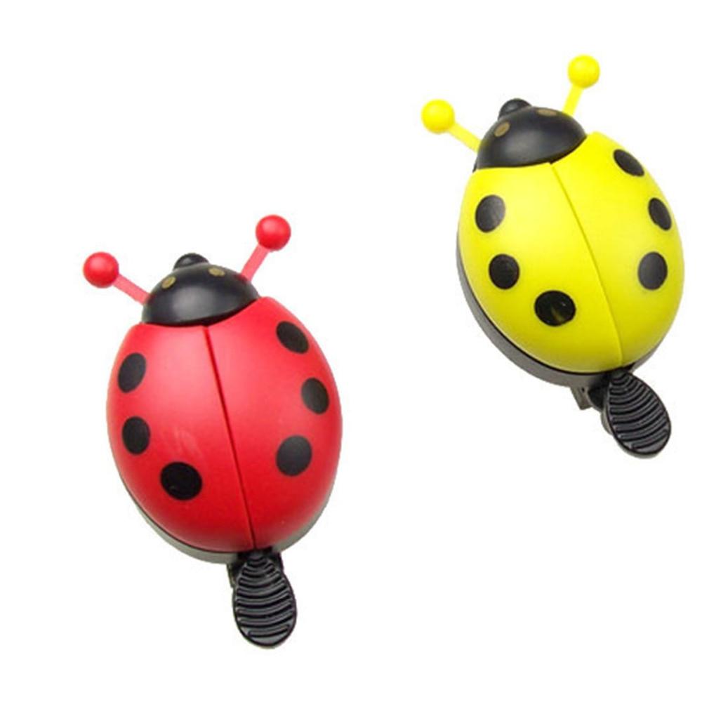 Cycling Bicycle Ride Horn Alarm Bike Bell Ring Beetle Mini Cartoon Ladybug US