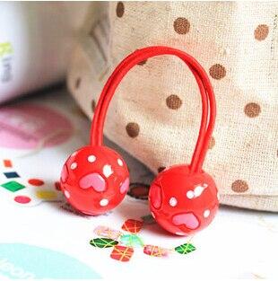 Neue Styling-Tools Love Ball elastische Haarbänder Kopfbedeckungen - Bekleidungszubehör - Foto 2