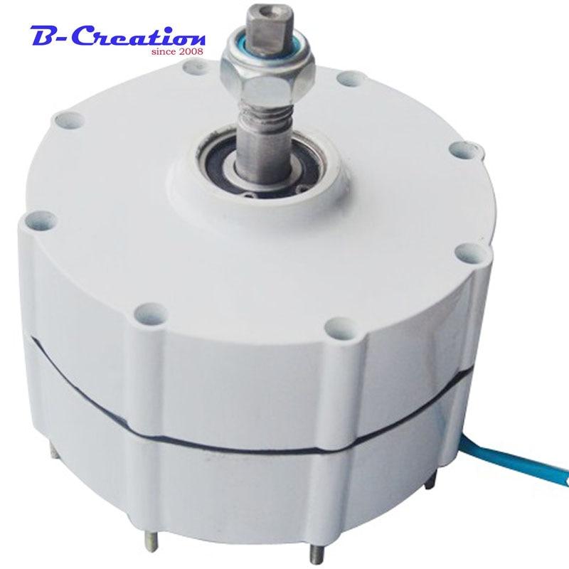 low Rpm 800w 24v/48v Permanent Magnet Generator Power Ac Synchronous Alternative Energy +1000w Waterproof wind controller 1000w 48v alternative energy wind generator