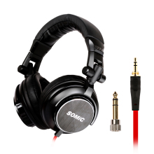 лучшая цена SOMiC MM185 Original Headset  Virtual Surround Sound Headband Gaming Headphone with Microphone New 50mm driver unit
