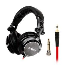 SOMiC MM185 Original Headset  Virtual Surround Sound Headband Gaming Headphone with Microphone New 50mm driver unit original meizu hd50 pk xiaomi headband headphone