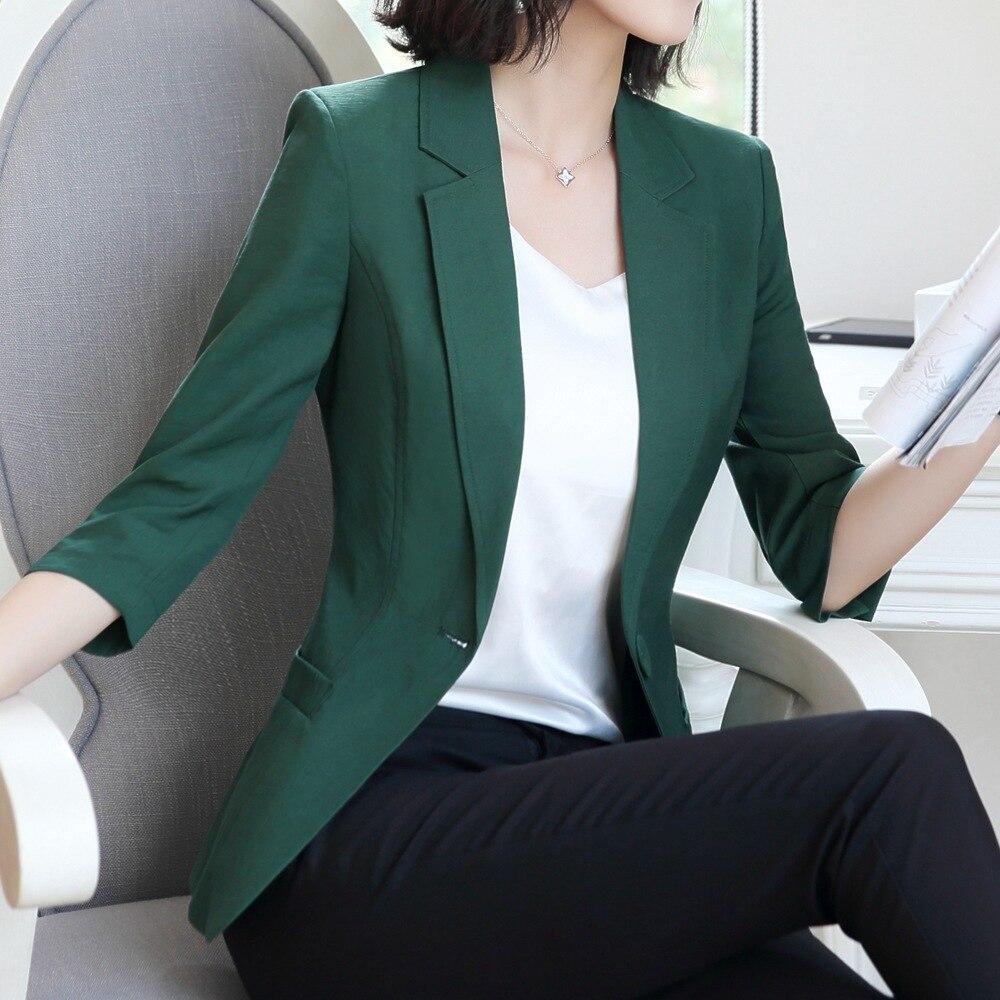 Bouton Boutons Blazer White Manches Mince champagne vert Feminino Veste Femmes D'été 3 T18x6097 4 Unique Blazer rouge Porter Taille Casual Bureau Fmasuth zZx7q0nv