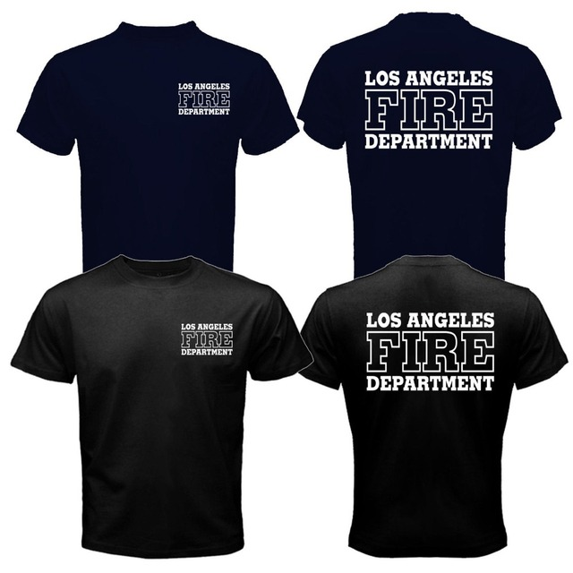 Los Angeles Fire Department T Shirt Men Search And Rescue San