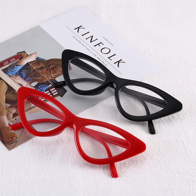 44bb67d50e SOLO TU New Fashion Cat Eye Personality Eyewear Frame Women Female Optical  Eyeglasses Computer Glasses Spectacle Frame Oculos
