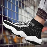 Flying Sneakers Men Shoes Casual 2019 Spring Summer Mesh Sport Sneakers Mans Walking Shoe Male Footwear Designer Sneakers Mens