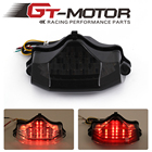 GT Motor -Motorcycle LED Tail Light with Turn Signals Integrated for for Yamaha FZ600 FZ6 04-09