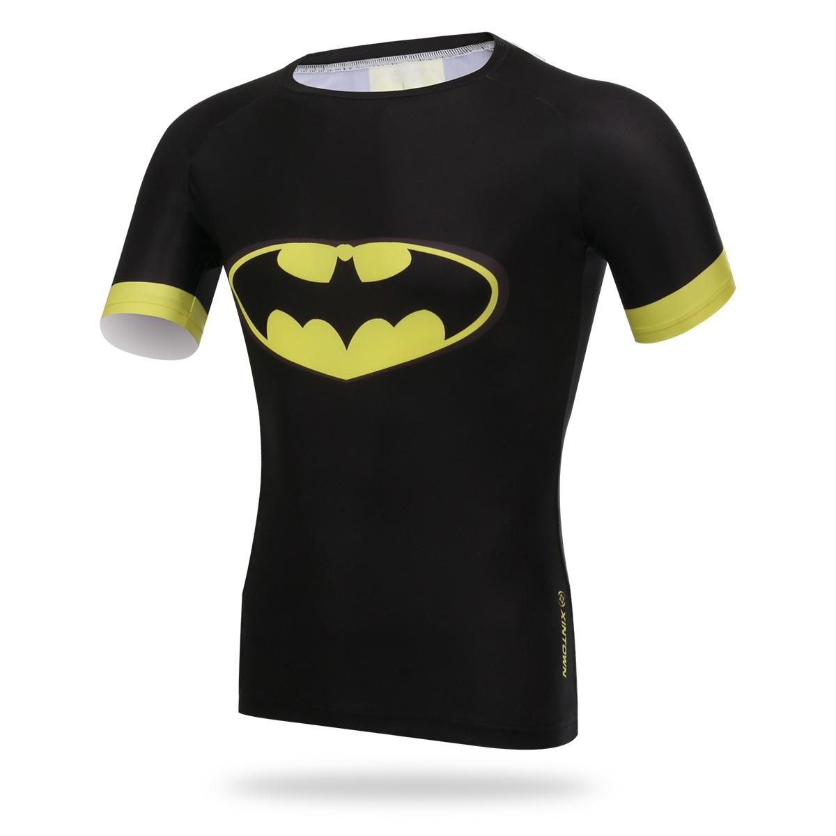 Xintown Men Running T Shirt Cycling Shirt Body Building