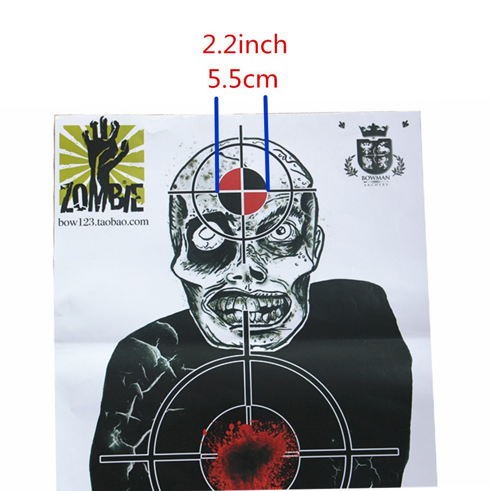 Objetivos de tiro al papel objetivo del objetivo y objetivos de - Caza - foto 4