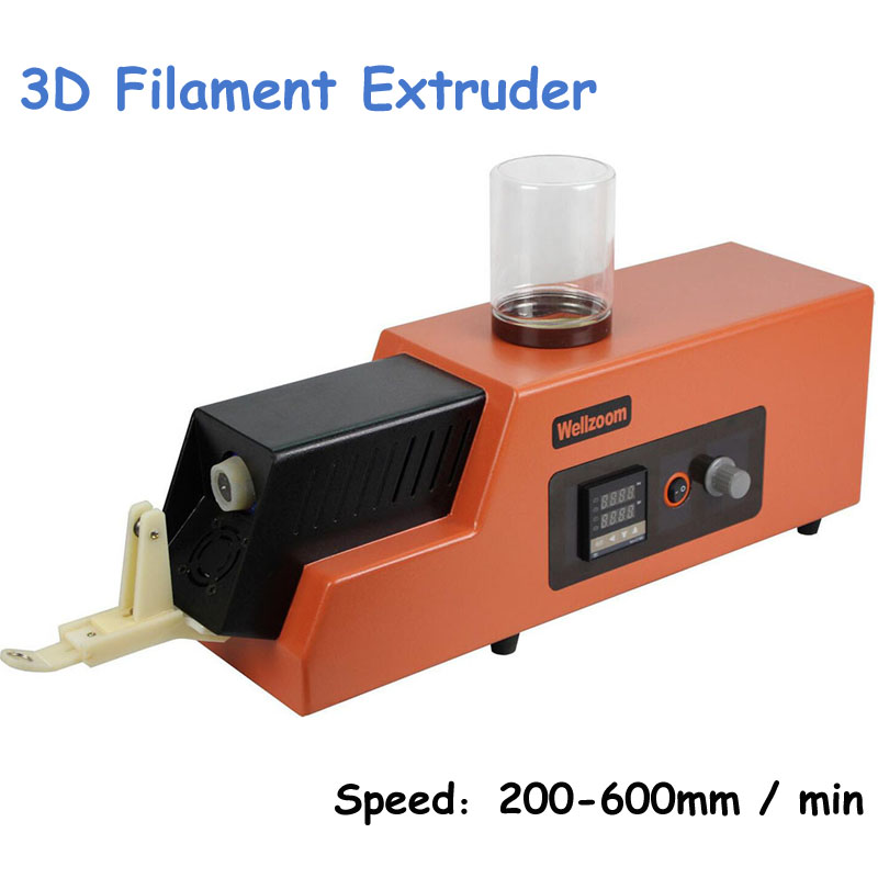 2016 Upgraded 3D Filament Extruder Machine Speed Adjustable 3D Filament Extruder Machine wholesale wanhao 3d printe d4s multi shape samples making dual extruder printing machine print with abs pla pva wood filament