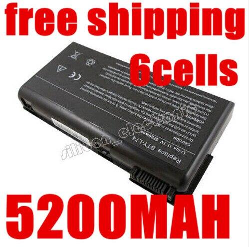 5200 МАЧ новый аккумулятор для ноутбука MSI BTY-L74 BTY-L75 Для MSI A6200 CR600 CR610 CR620 CR700 A5000 A6000 BTY-L74 BTY-L75 MS-1682