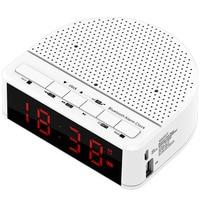 Multi Function LED Alarm Clock Wireless Bluetooth Speaker Music Player With Digital Display Radio Mobile Phone