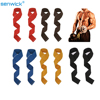 New 2pcs Gym Lifting Straps Weight lifting Wrist Weight Belt Body Building Gloves for Women Men Fitness Crossfit Barbells Power 1