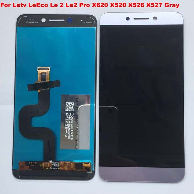Gray For Letv LeEco Le 2 Le2 Pro X620 X520 X526 X527 X522 X621 LCD Display Touch Screen Digitizer Assembly Replacement Original