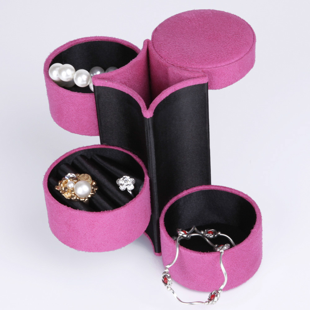 Free Shipping 9 colors red Colors Jewelry Sets Display Box Ring Box Gift Box mini design easy to take