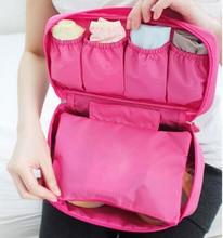 Portable travel underwear bra storage bag underwear panties storage box bag net bag wash bag