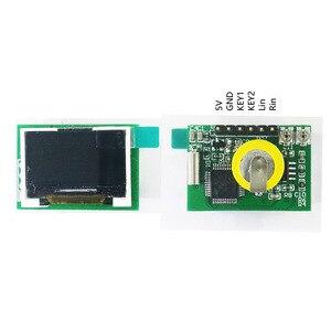 Image 4 - Mini 0.96 Inch IPS Màn Hình Màu Đa Chế Độ Phổ Màn Hình Máy Phân Tích LED Vũ Nhạc Cụ Ánh Sáng Cho Trưng Bày Tập DC5V