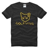2017 última moda Odd future Golf Wang ofwgkta hip-hop rap t-shirt moda 2017 Nuevo manga corta o Masajeadores de cuello