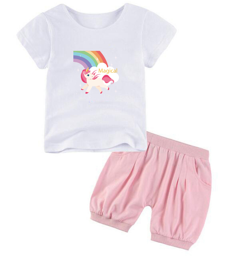 Prajna Kids Iron on Transfers For Clothing T shirt Hot Heat Vinyl Thermal Transfer Patches Unicorn Rainbow Stickers Applique DIY