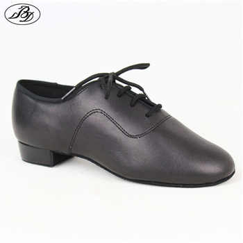 Boys Standard Dance Shoes BD 702 Black Straight Dance Shoes Dancesport Shoes Ballroom Dance Shoe Waltz Tango Foxtrot Quickstep - DISCOUNT ITEM  20% OFF Sports & Entertainment