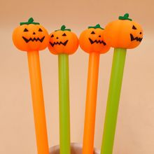 36 Pcs/lot Halloween Pumpkin Gel Pen Signature Escolar Papelaria School Office Supply Promotional Gift