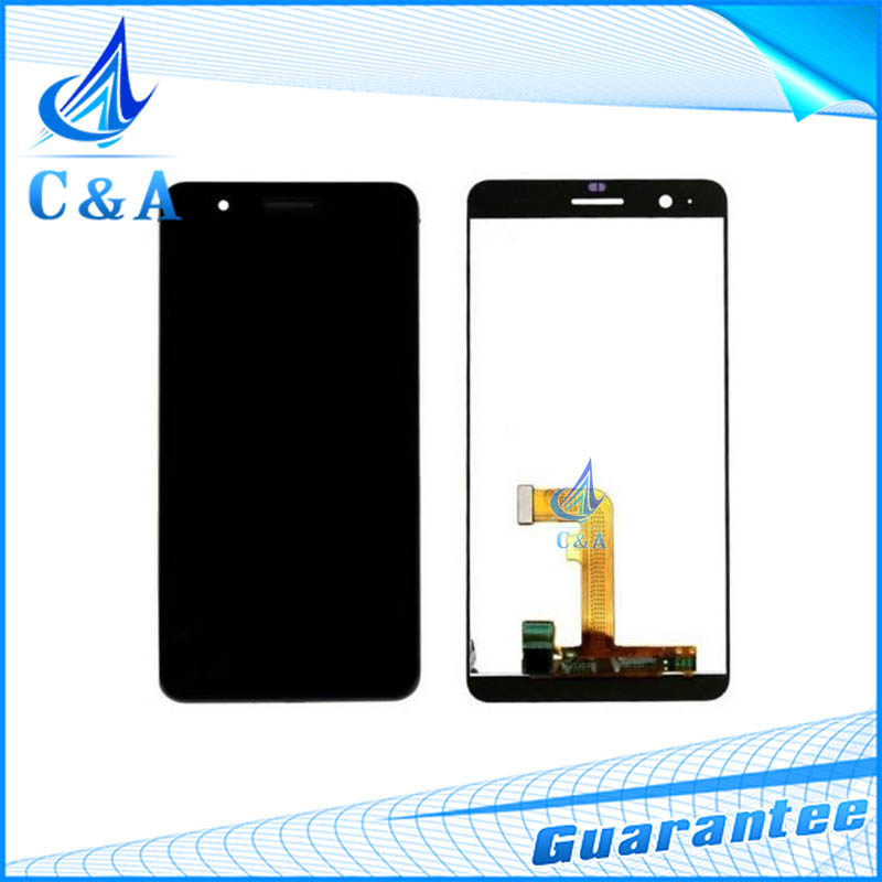 1 piece free shipping tested replacement repair parts for huawei honor 6 plus lcd display screen with touch digitizer complete