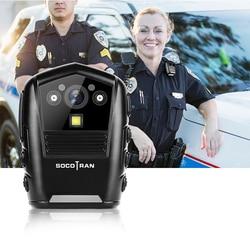 SOCOTRAN DSJ-S8 HD aplicación grabadora policía noche visión cuerpo video bolsillo de seguridad de la policía de grabadora de vídeo Cámara 16GB de memoria