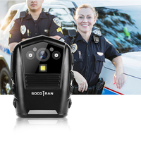 SOCOTRAN DSJ S8 HD live Law Enforcement Recorder Police body video camera with 2 LCD display,1920x1080P Resolution,16GB Memory