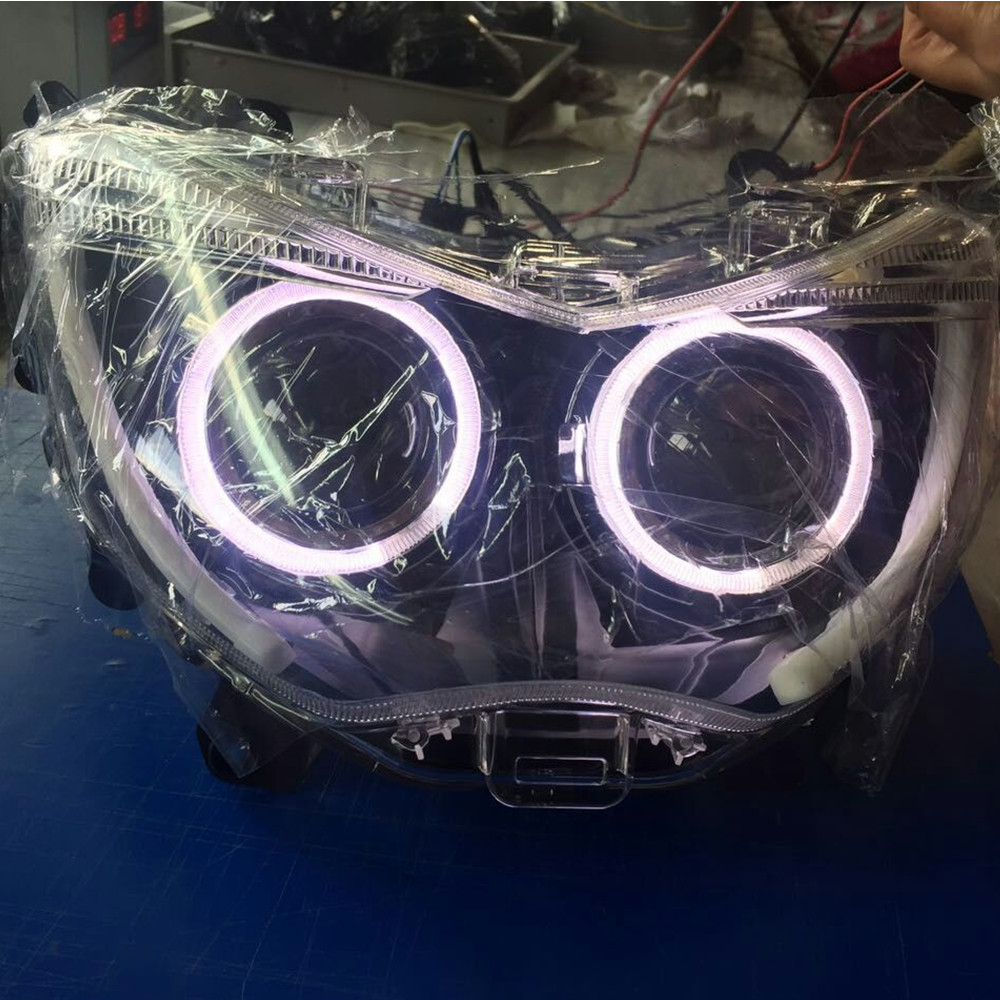 Modified Motorcycle Parts Headlight Hid Head Light Led Headlamp