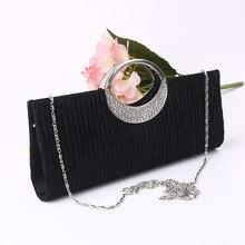 Top Qualität Frauen Clutch Bag Abendtaschen Messenger Partei Handtaschen Cross Body Schultertasche Einfache Frauen Abendtasche mit Kette