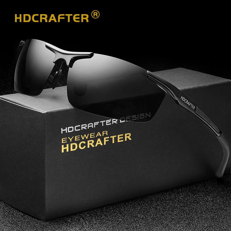 Zonnebril Heren Outdoor Sport Gepolariseerde zonnebril Merk Designer Goggles Marca Man Driving zonnebril uv 400 bescherming