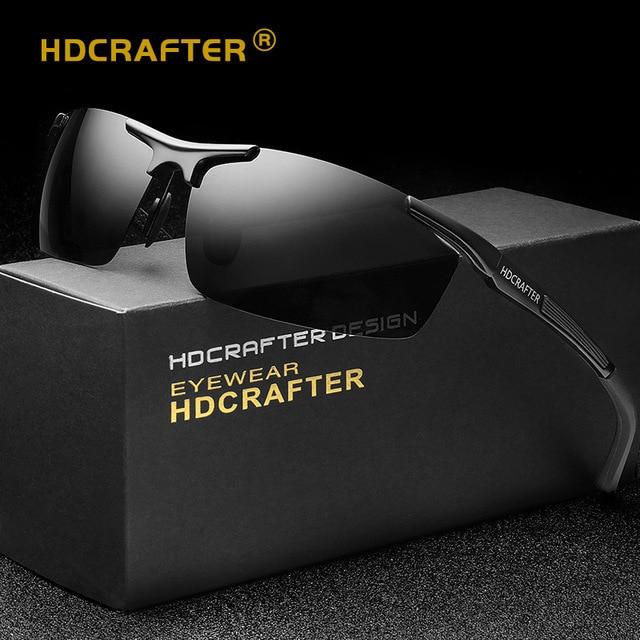 Óculos de sol Dos Homens Polarizados Esporte Ao Ar Livre Óculos De Sol de  Marca Designer 488e6a4768