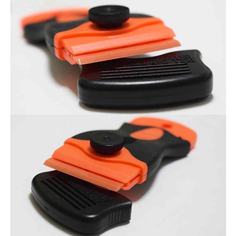 Rascador de maquinilla de afeitar multiusos goma coche pegatina removedor pala de nieve rascador de hielo herramientas de tintado E22 + E15